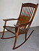 Sculpted Maloof Style Rocking Chair