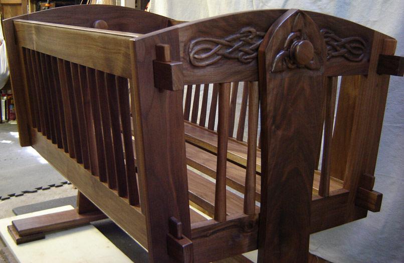 Asombroso Bebé Cradels Muebles Composición - Muebles Para Ideas de ...