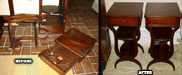 End Table Repaired