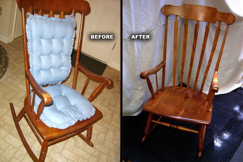 ... Rocking Chair Refinished ...