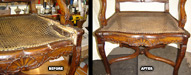 Bergere Chair Repaired