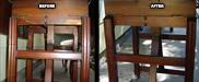 Drop Leaf Table Repaired
